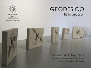 Muestra de Felix Orcajo en el espacio expositivo del Huerto del Tertuliano.
